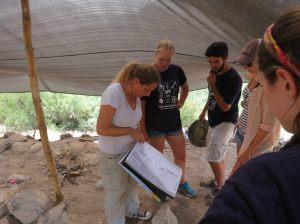 Site tour of Ein Gev.